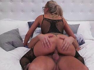 Busty mature MILFs suck and fuck boys