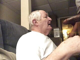 Grandpa deepthroat bbc