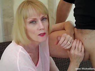 Cuckold Husband Begs For Blowjob
