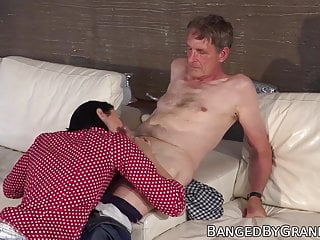 fucked and by with babe cum fed Pretty senior
