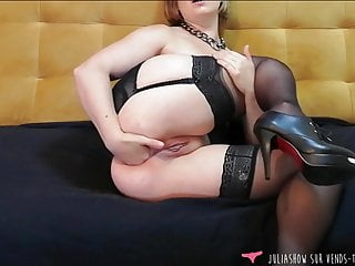 Anal Fist and Fingering – French Amateur Girl