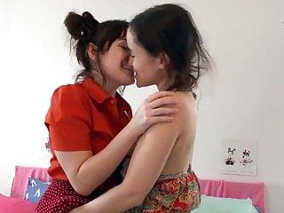Fingering Teen Lesbian video: Best friends having a sleepover like old times