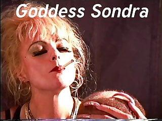 Goddess Sondra Smoking With Long Nails