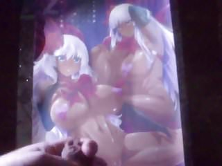 SOP 2 cumshots dark skin Liliana and Annette hentai tribute