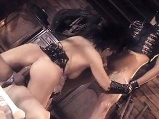 Rita Faltoyano (DP) double cum on tits