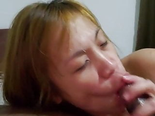 Filipina loves swallowing bbc cum
