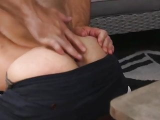 Boy takes care of daddy