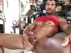Latino Monster Hard-on Masturbing