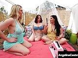Curvy BBW Angelina Castro, Maggie Green & Joslyn Pussy Fuck!