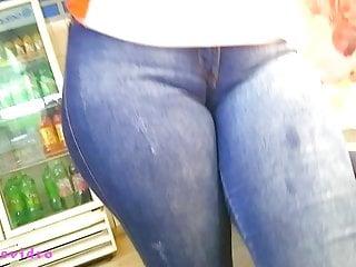 bela pata de camelo da gostosa cameltoe in jeans E 97