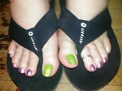 Bbw Toes Flipflops