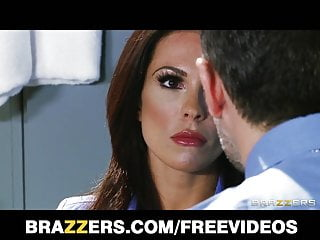 Dominant brunette cop Kirsten Price is fucked by her partner