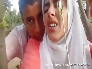 Muslim teen first painful anal