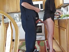 Sheila en la cocina