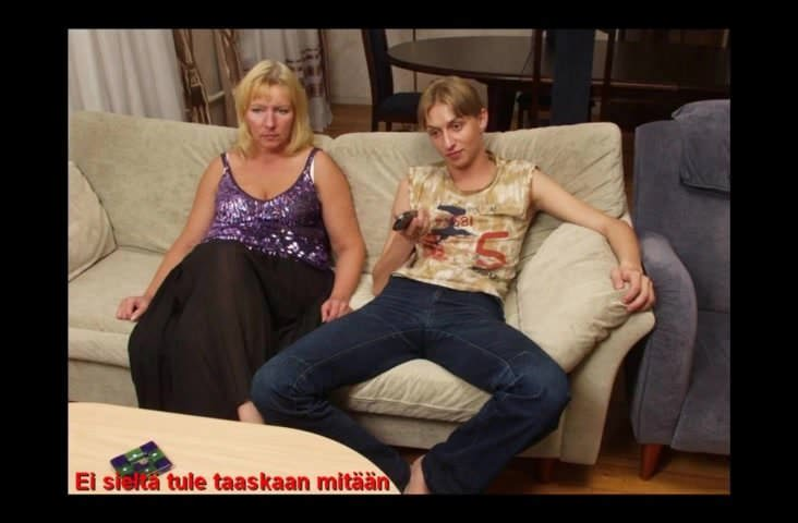 Mature Mom Blackmailed Son