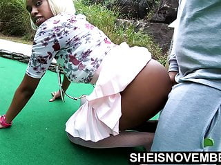 Ebony Creampie And Cum Spill Out In Slow Motion Msnovember