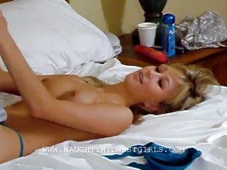 Kasia Kassia plays with the orange dildo