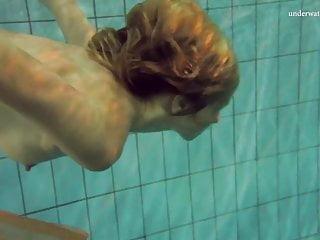Naked swimming babe nastya...