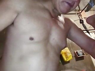 Nice chinese grandpa fucking a young man