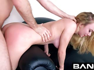 BANG Casting:Blonde & Sexy Molly Mae Gives A Good Titty Fuck