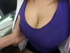 tekoki bb position nurse blue dress