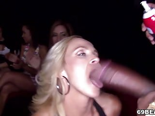 CFNM Party With Big Black Cock