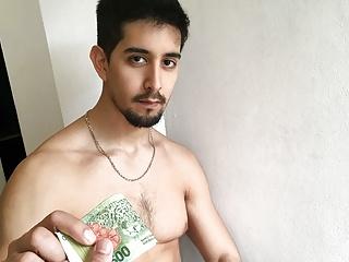 Hot Amateur Stud Latino Boy Paid Cash To Fuck Stranger
