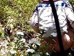 Viet Girl Urinating 1