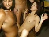 Awesome Amateur Wife Gangbang Slut Covereded In Jizz