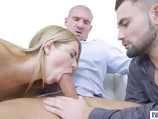 Natural Tits Nikki Dream Riding Two Bisexual Dicks