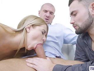 Natural Tits Nikki Dream Riding Two Bisexual Dicks