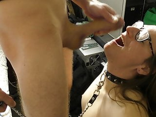 Sydney Trans Slut Sucks Huge Cock With Massive Facial
