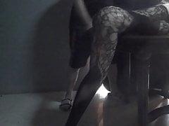 Hard Slipper in Body Stocking