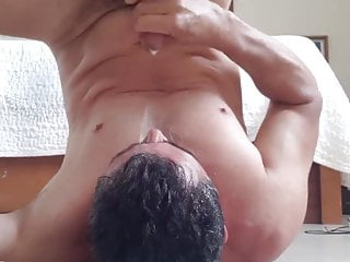 Cumming in my face e eating cum with...