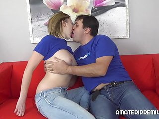 Couple showing off their favorite sexual position...