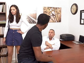 Bella Rolland Fucks Loan Sharks To Save Her Daddy