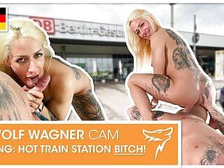 PUBLIC: Harleen van Hynten loves a good dick! WolfWagner.com