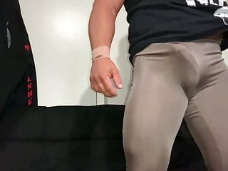 Me in my thin, shiny spandex