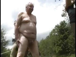 Torture grandpa 1...