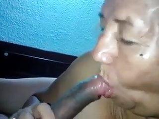 Amateur Asian Granny Head